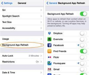 iOS, 11, battery, life, issues, fix, iPhone, drain, draining, quick, tips, tricks, how, to, turn, off, background, app, refresh
