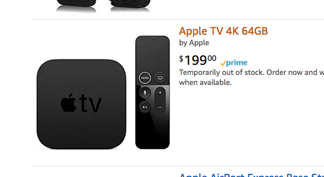 Amazon Lowers Prices On 4K Content To Compete With Apple