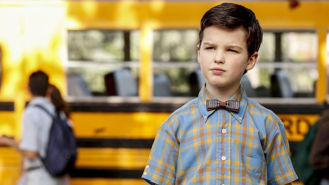 Young Sheldon scores big on first Monday of new season
