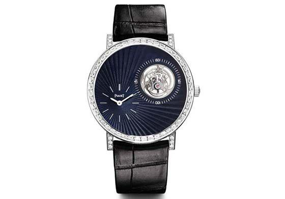 luxury TourbillonPiaget Altiplano Off-Center Tourbillon High Jewelry
