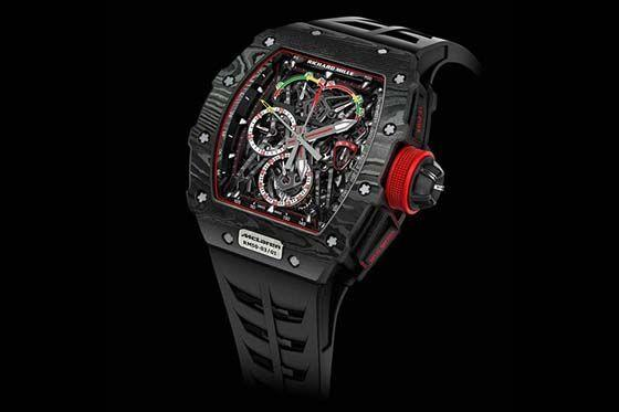 luxury TourbillonRichard Mille RM 50-03 Tourbillon Split Seconds Chronograph Ultralight McLaren F1