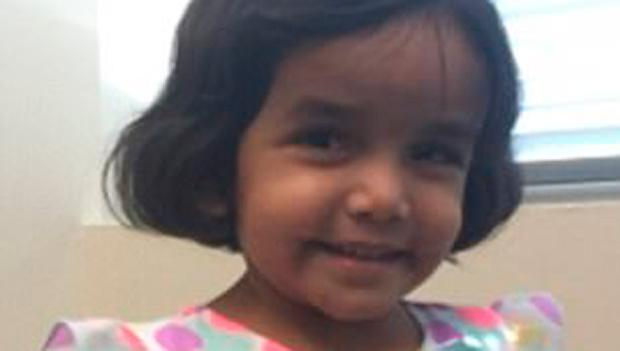 3-year-old put outside by father in U.S.  missing