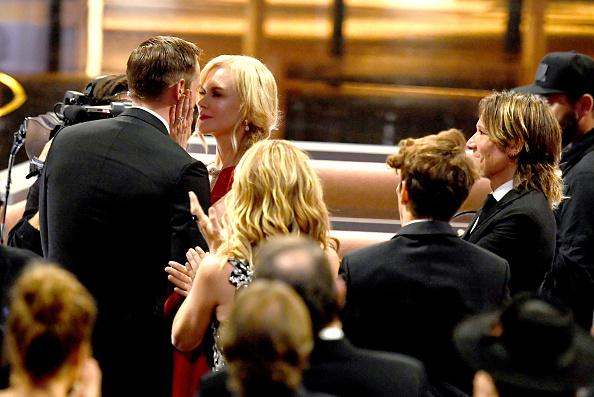Nicole Kidman Explains Shocking Emmys Kiss With Alexander Skarsgard