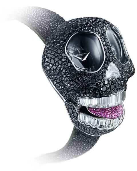 de GRISOGONO Crazy Skull in black diamonds_preview