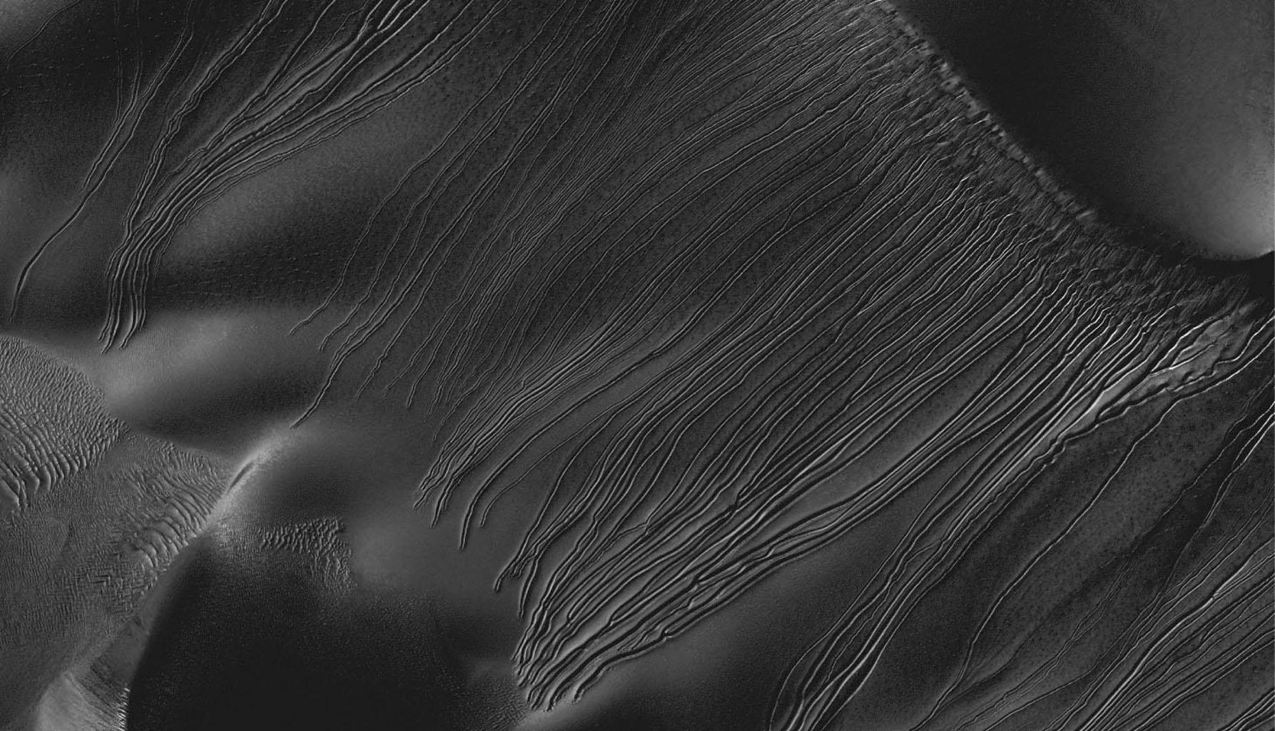 There Are Stick Figures Etched On Mars' Rocks