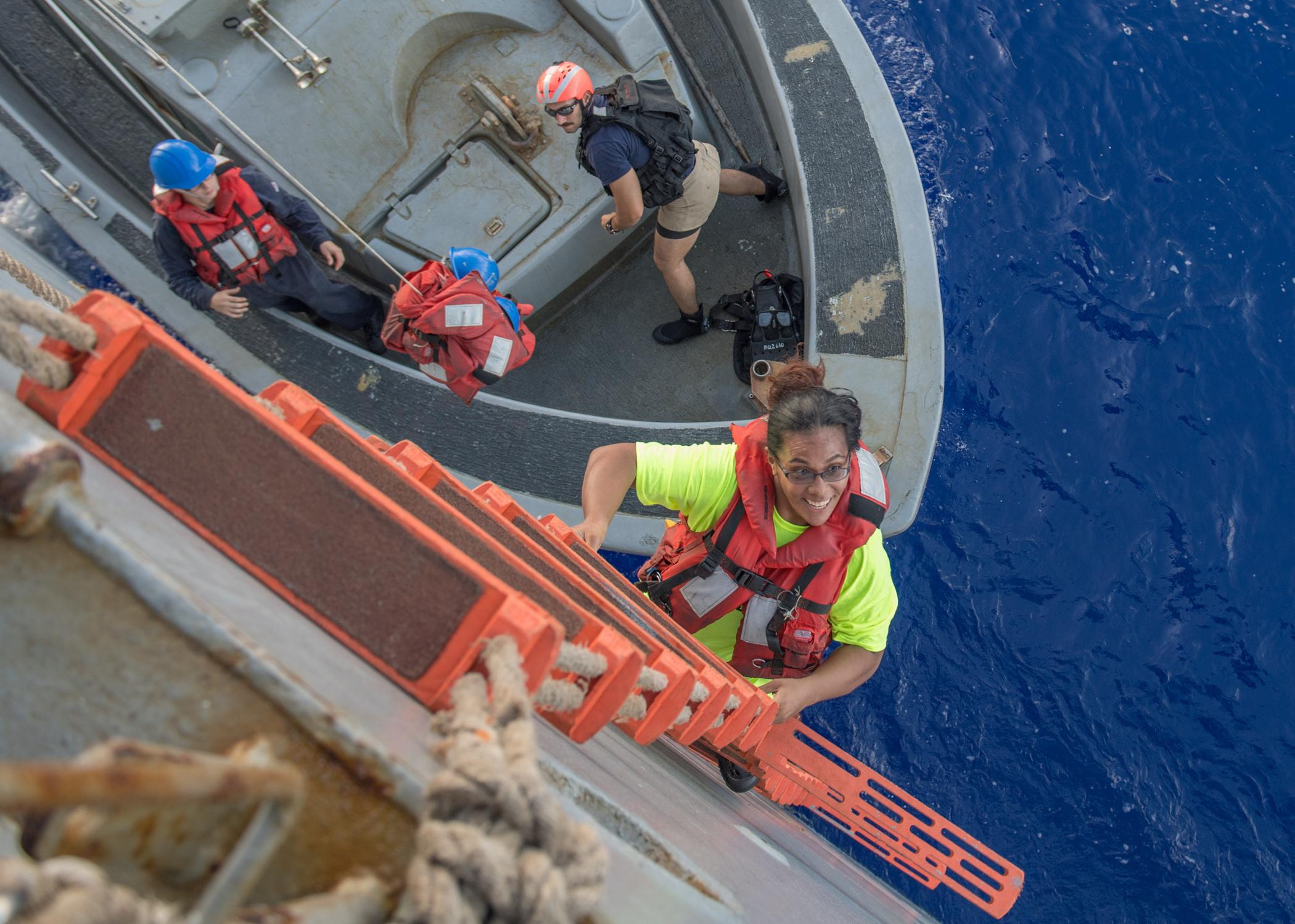 Navy rescues women and their dogs after five months adrift in Pacific
