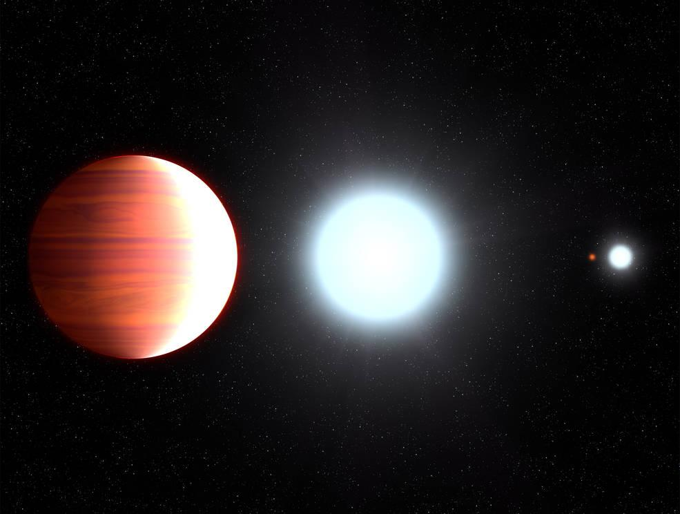 New 'hot' planet found with 'snowing sunscreen' on its dark side