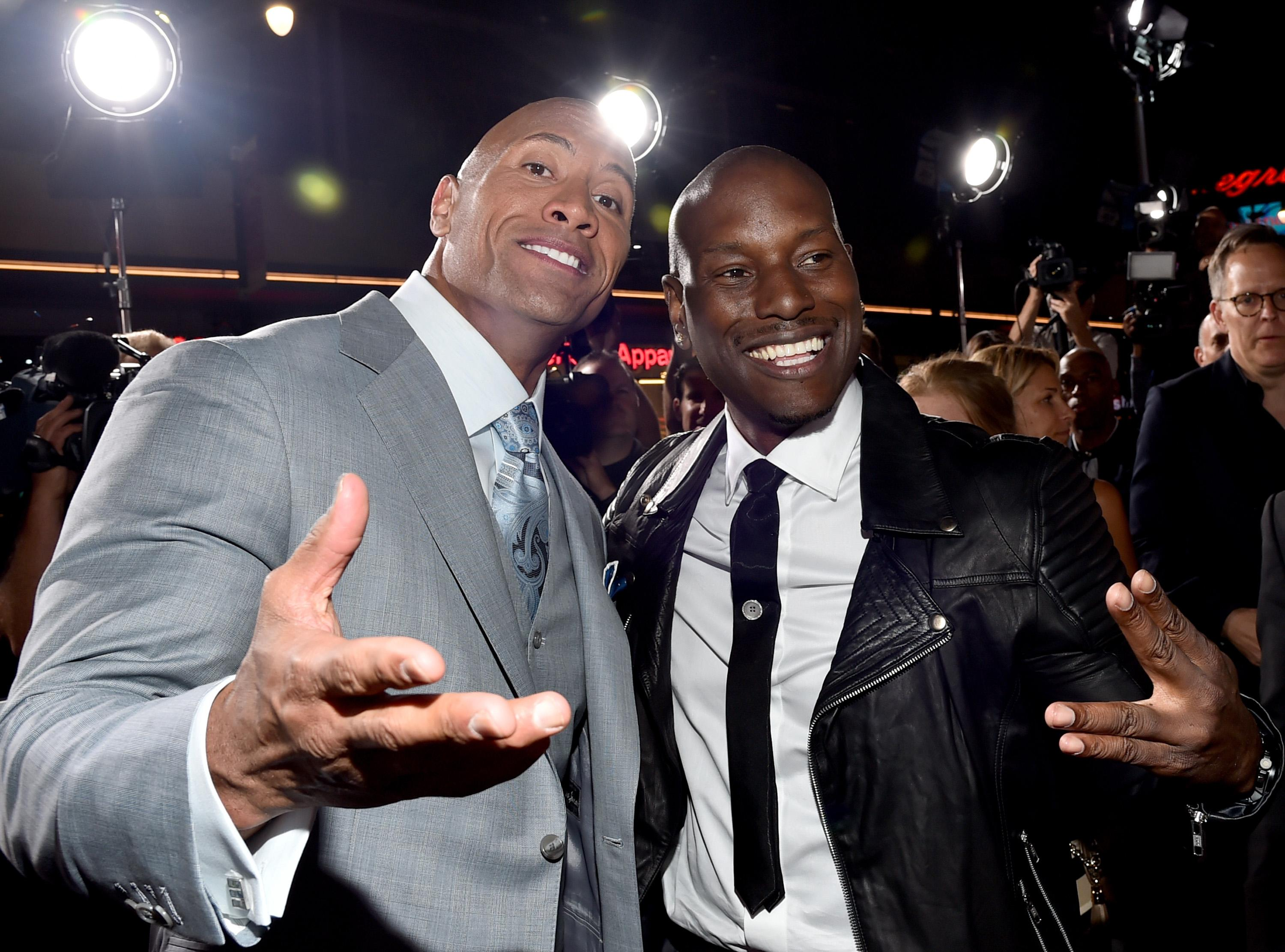 Tyrese threatens to quit 'Fast & Furious' over Dwayne Johnson