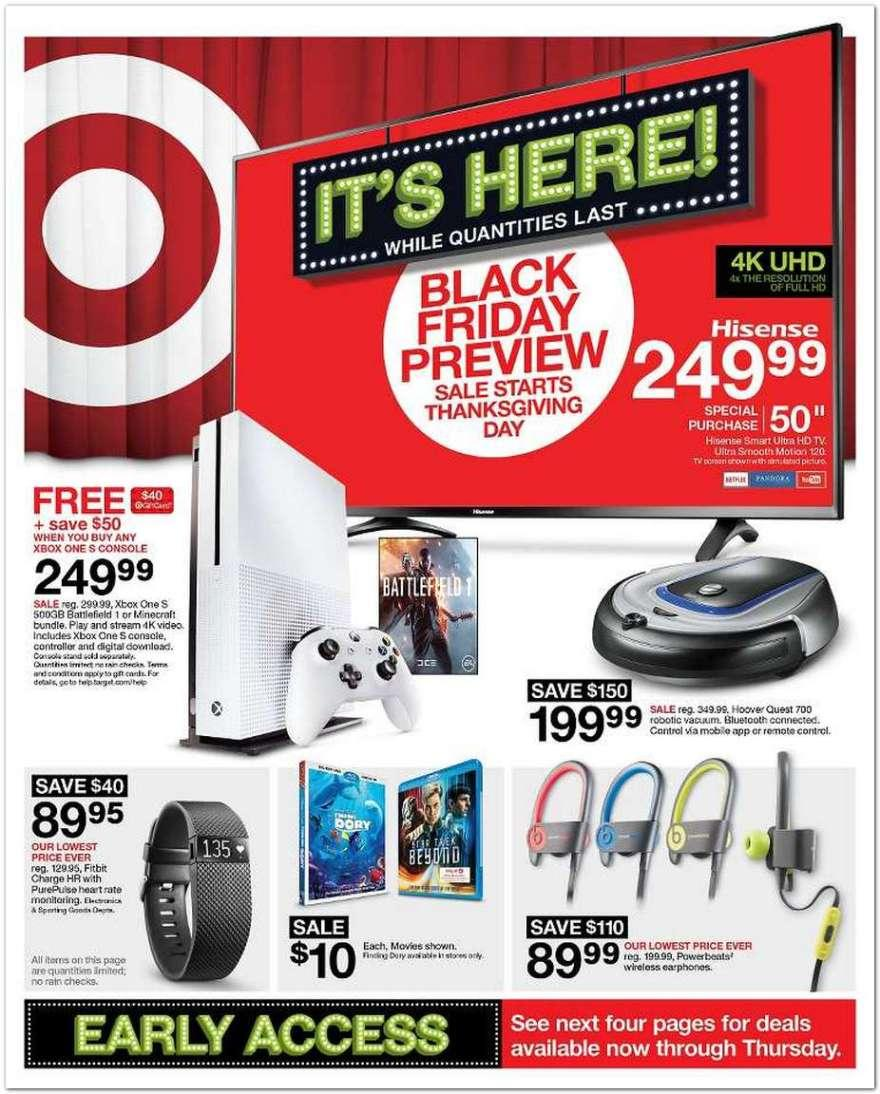 Black Friday 2017 Ads: Some Walmart, Target, Amazon Deals, Sales ...