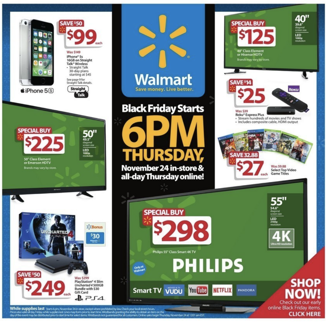 Black Friday 2017 Ads Some Walmart Target Amazon Deals