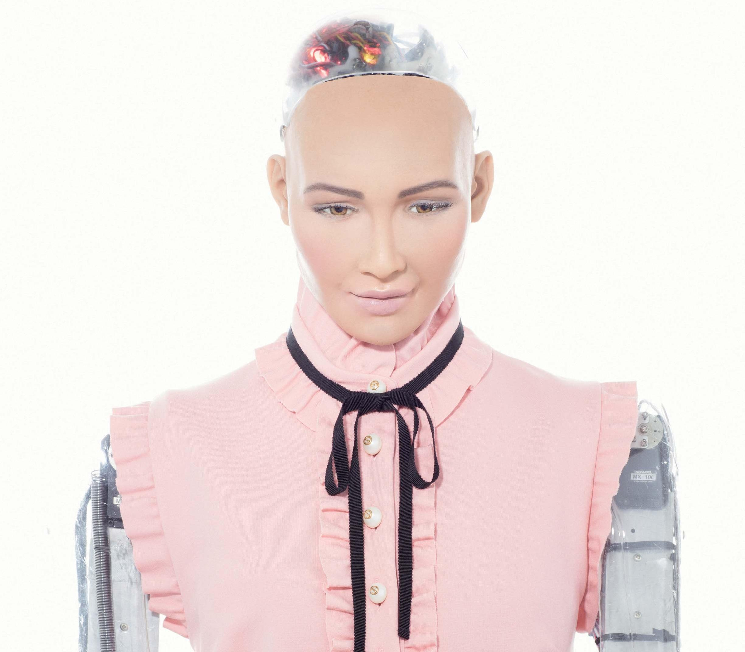 Feeling Lonely! Sophia The Robot For Android Company