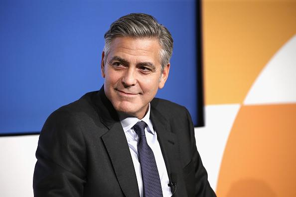George Clooney is too rich to act if he doesn't want to