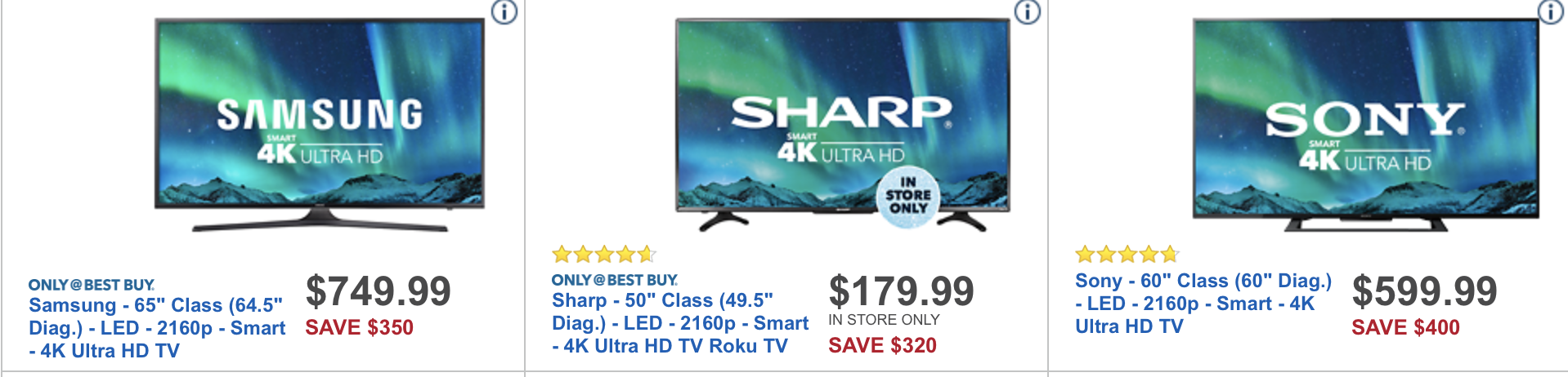 Black Friday 2017 TV Deals Walmart Best Buy Target Amazon More