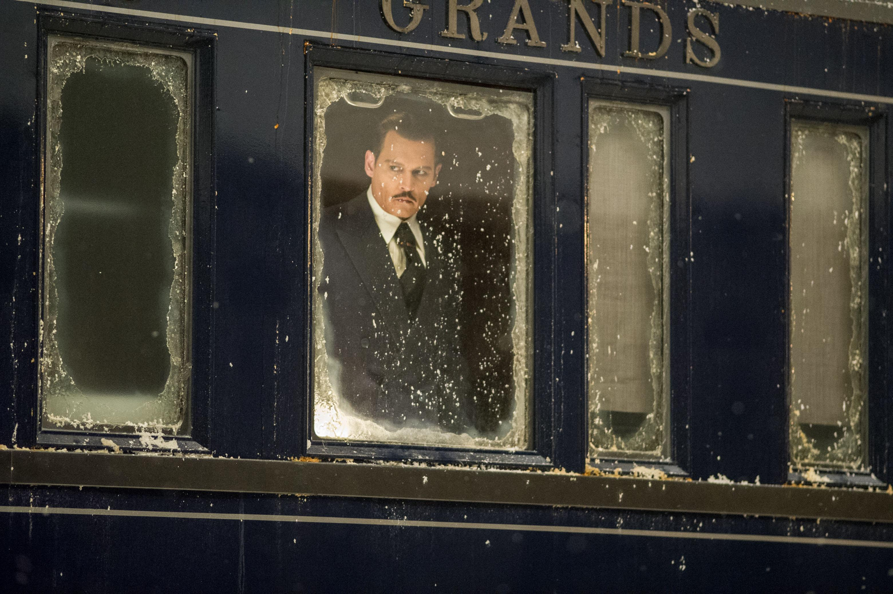 """Murder on the Orient Express"" ending"