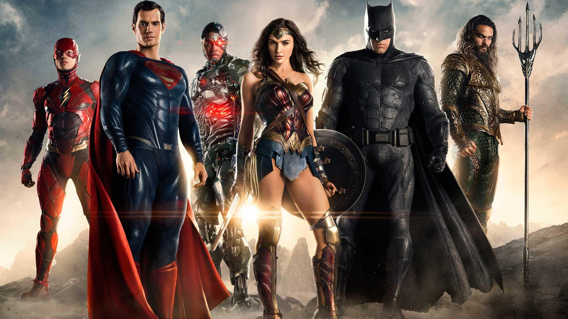 """Justice League"" arrives in theaters on Friday"