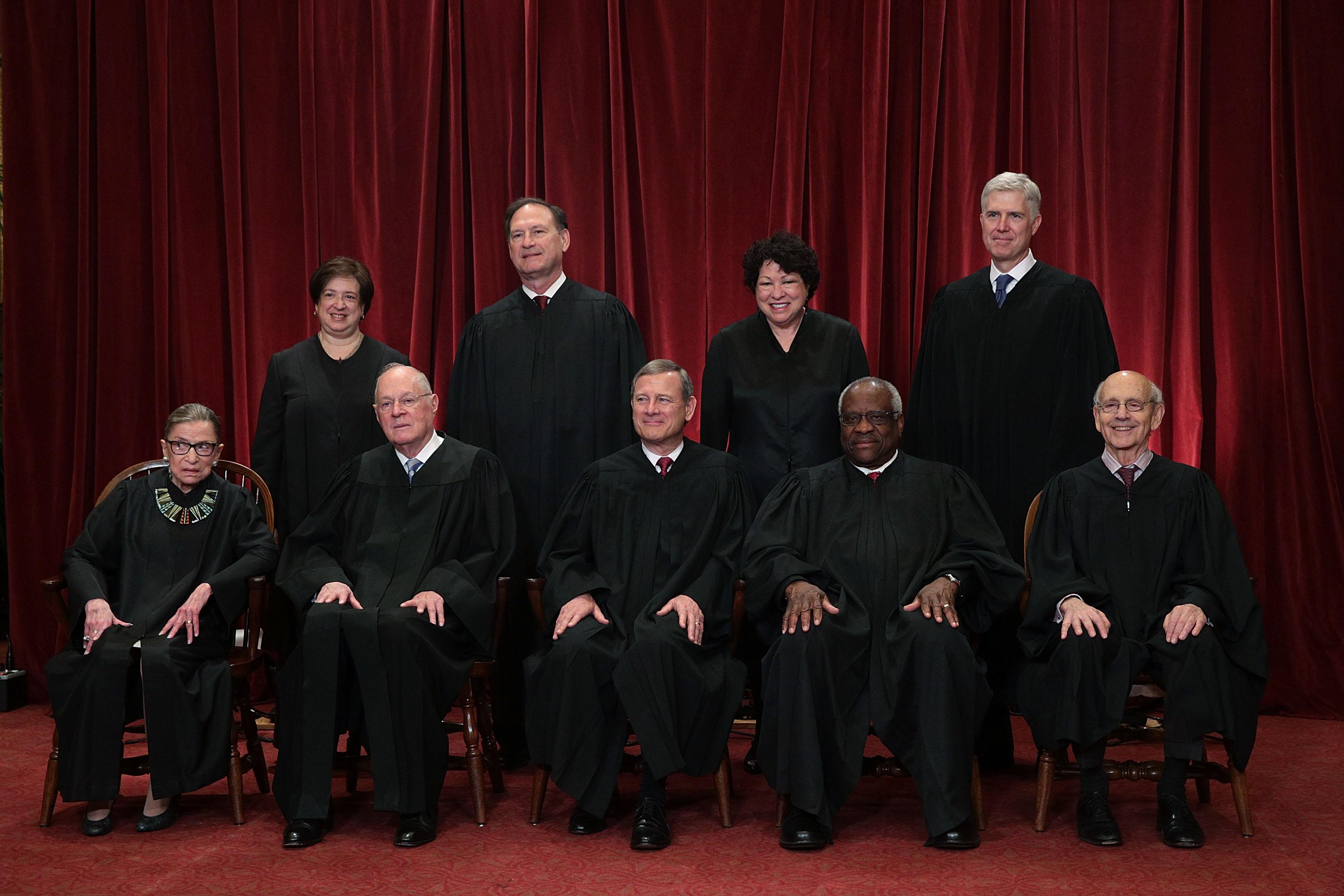 Supreme Court Justices, 2017