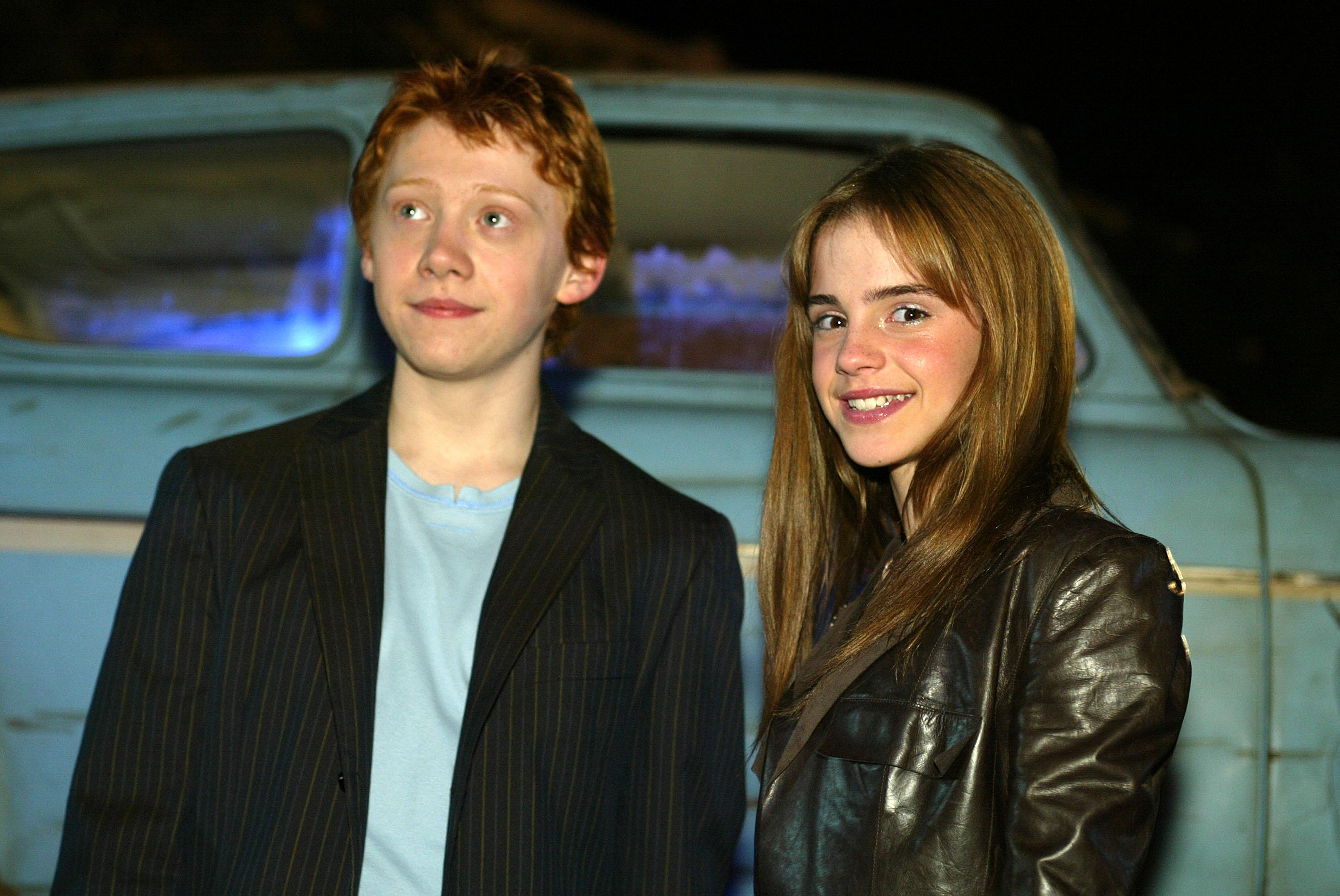 ron and hermione actors