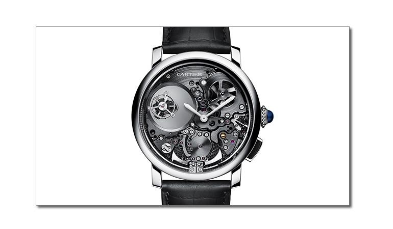 Cartier - Rotonde de Cartier Repetition Minutes Double Tourbillon Mysterieux