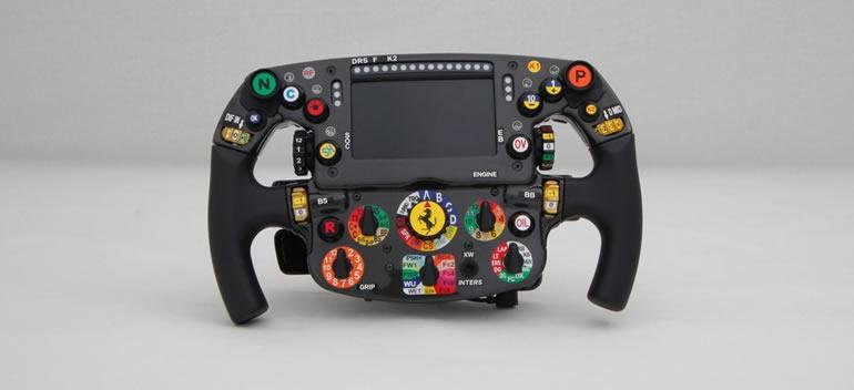 Ferrari sf70-h steering wheel
