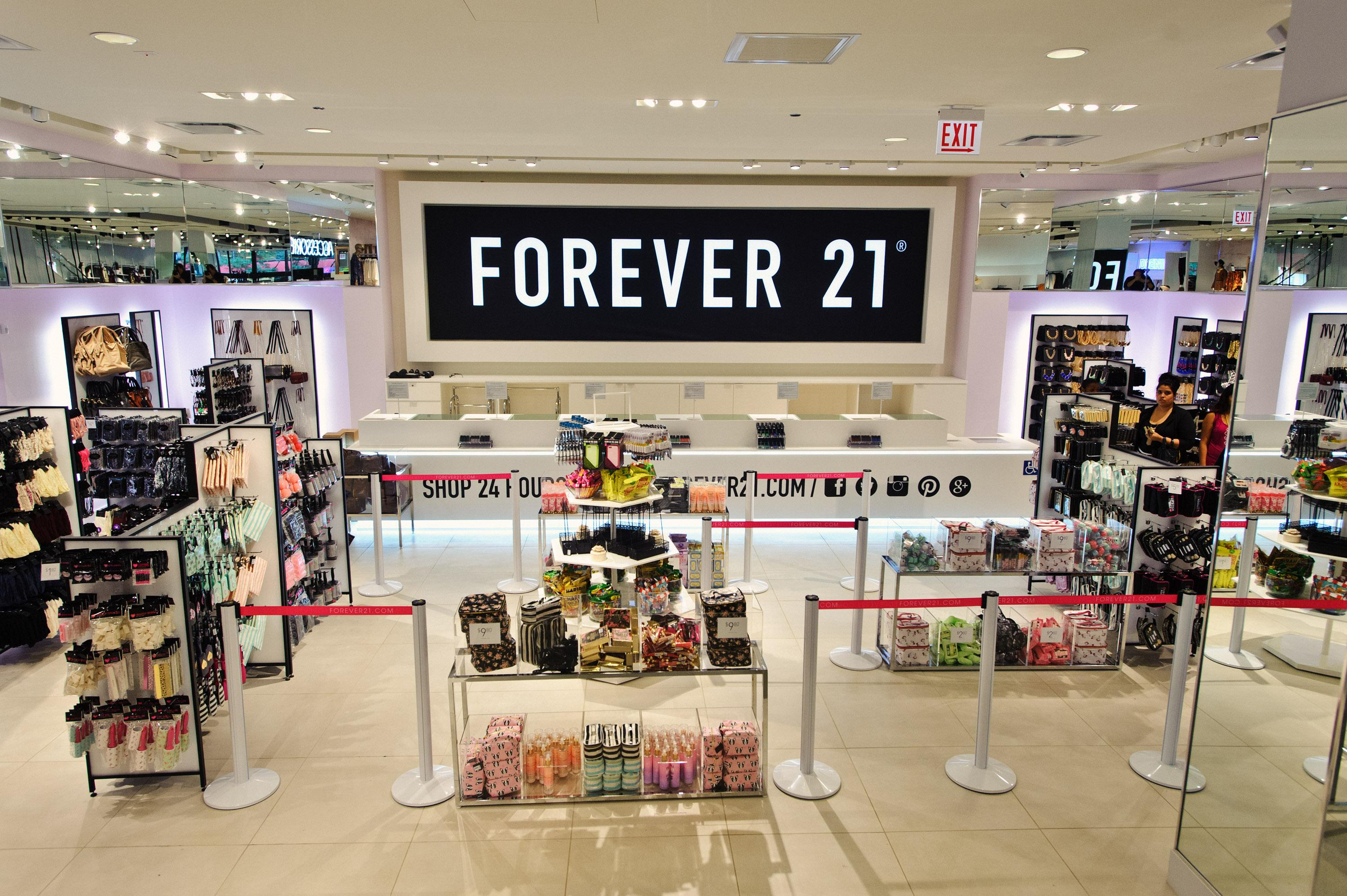United States fashion retailer Forever 21 files for bankruptcy