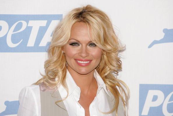 Pamela Anderson isn't backing down from comments blasting Harvey Weinstein's alleged victims