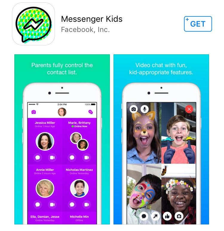 Facebook launches Messenger Kids app - but parents vet chat contacts