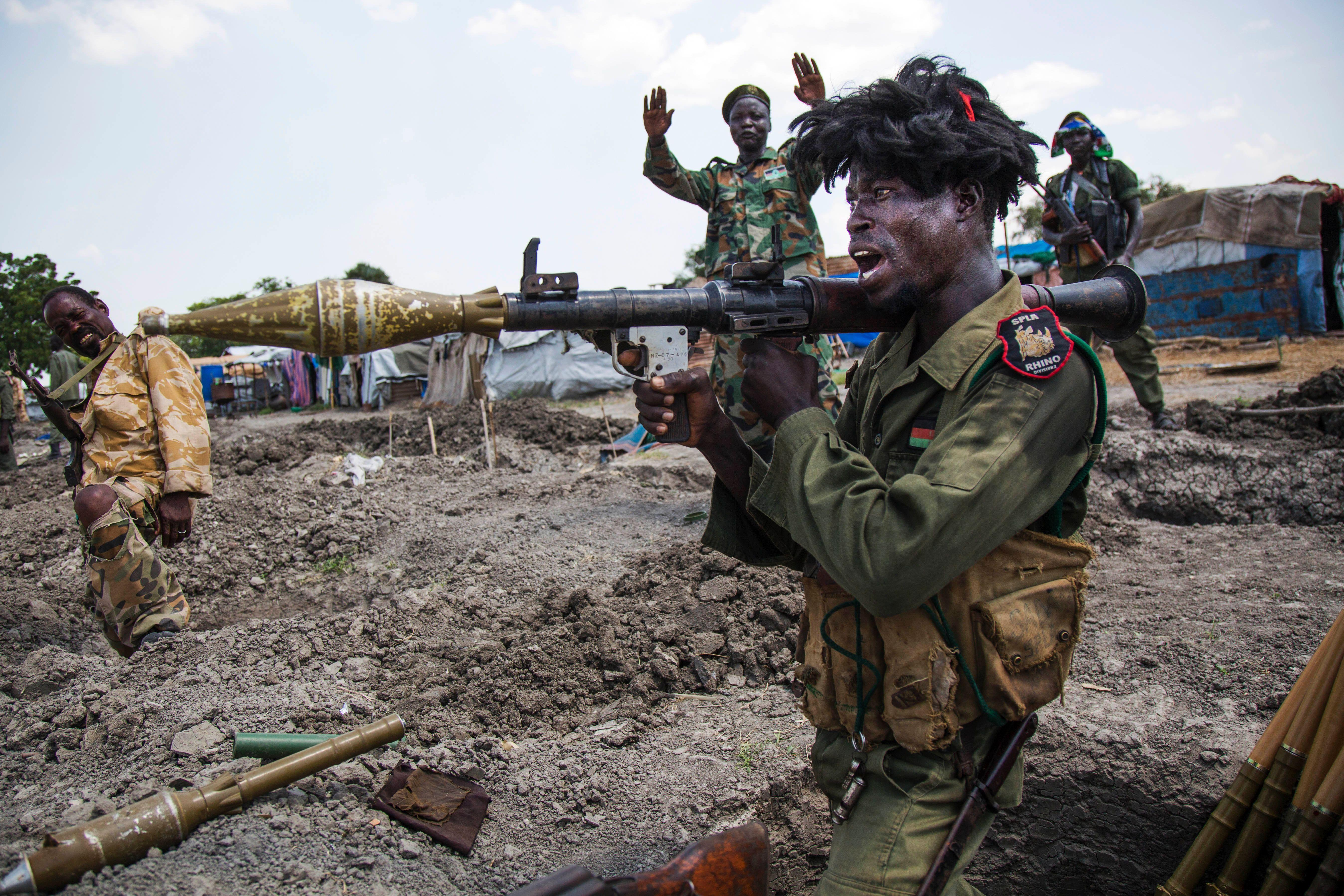 South Sudan-- soldiers --