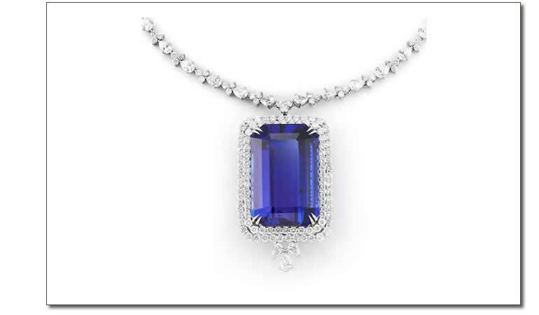 Takat - Tanzanite necklace