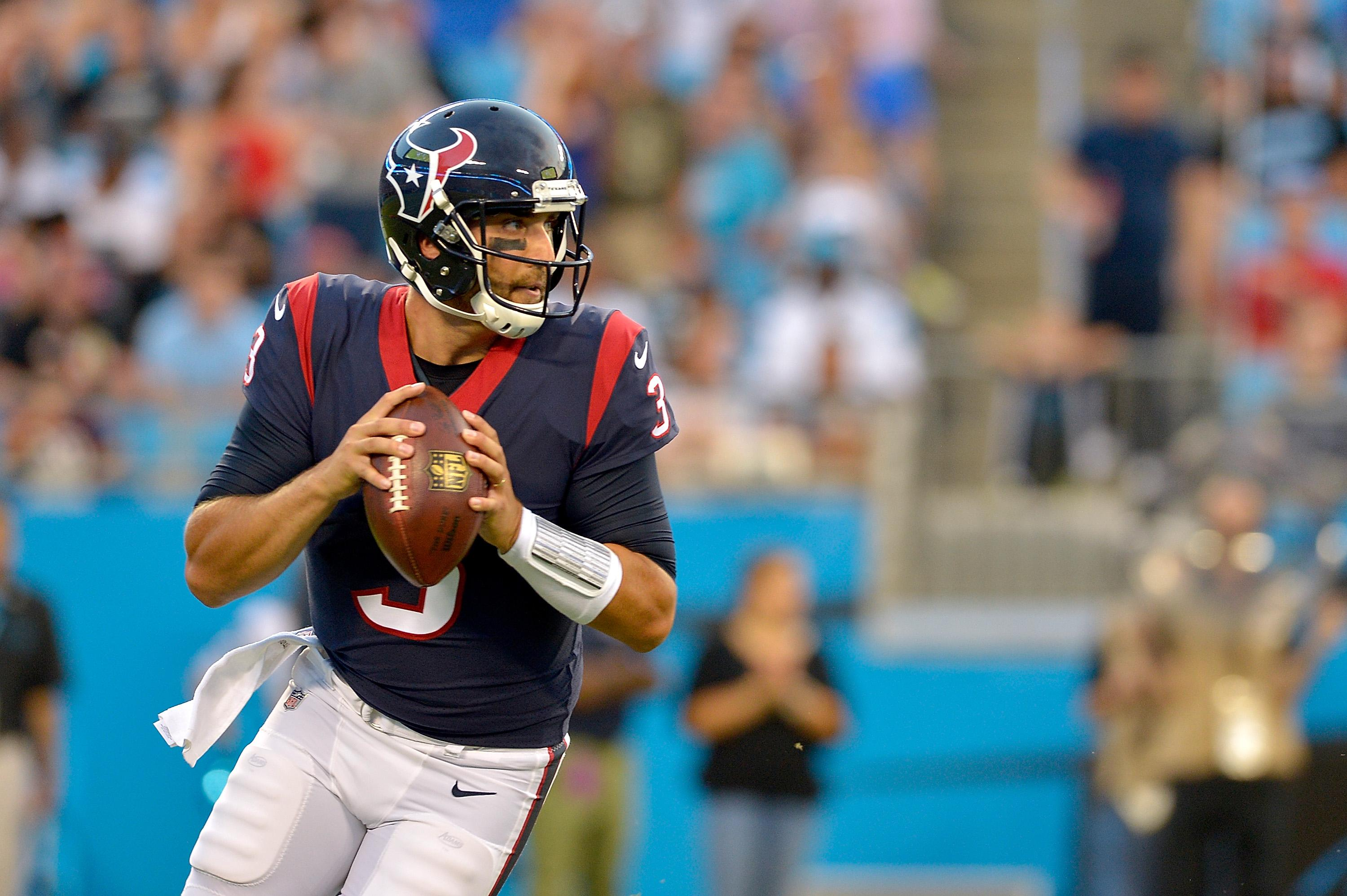 Tom Savage seen shaking after crushing hit vs. 49ers