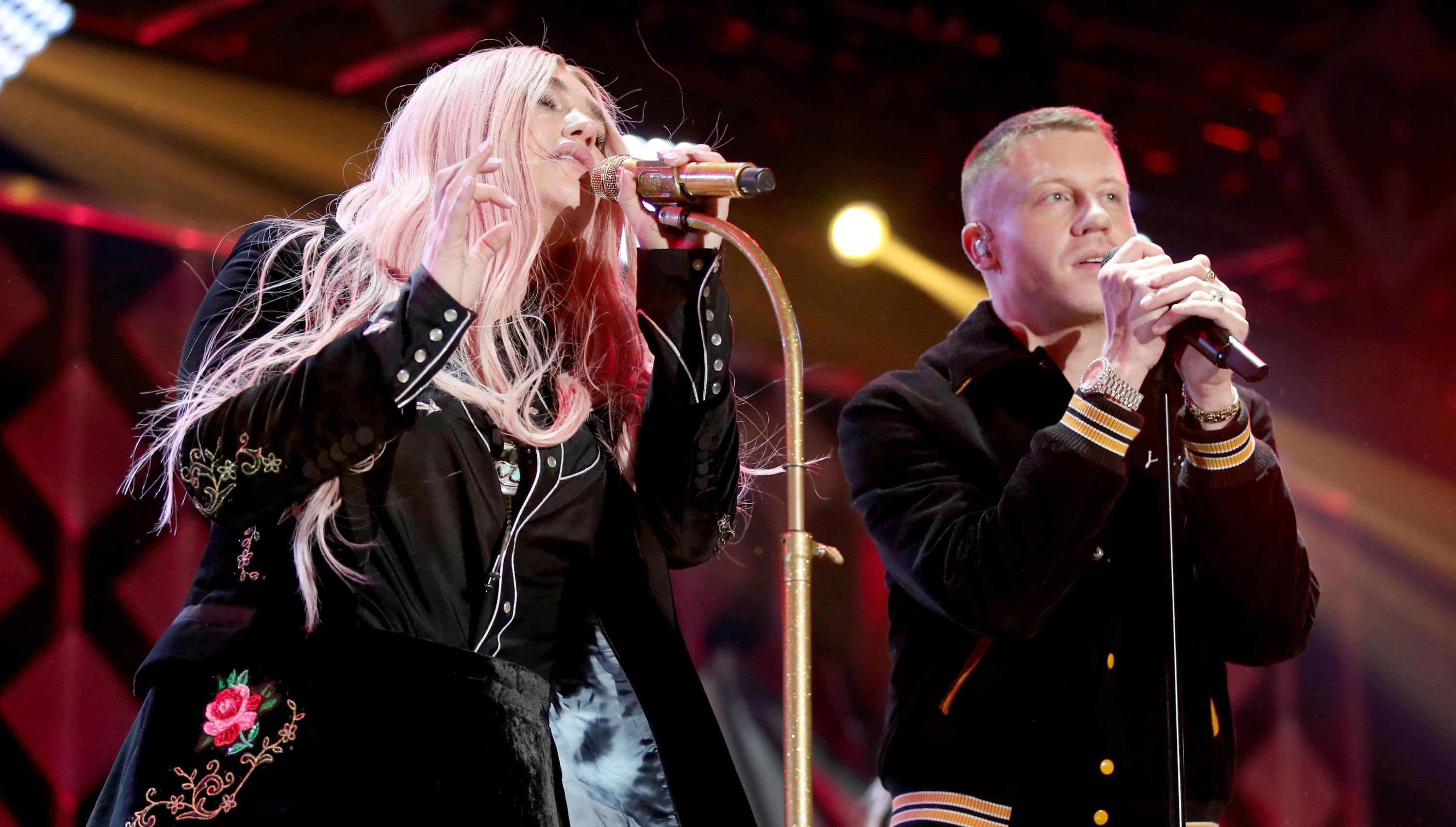 Kesha, Macklemore announce tour with Colorado stop
