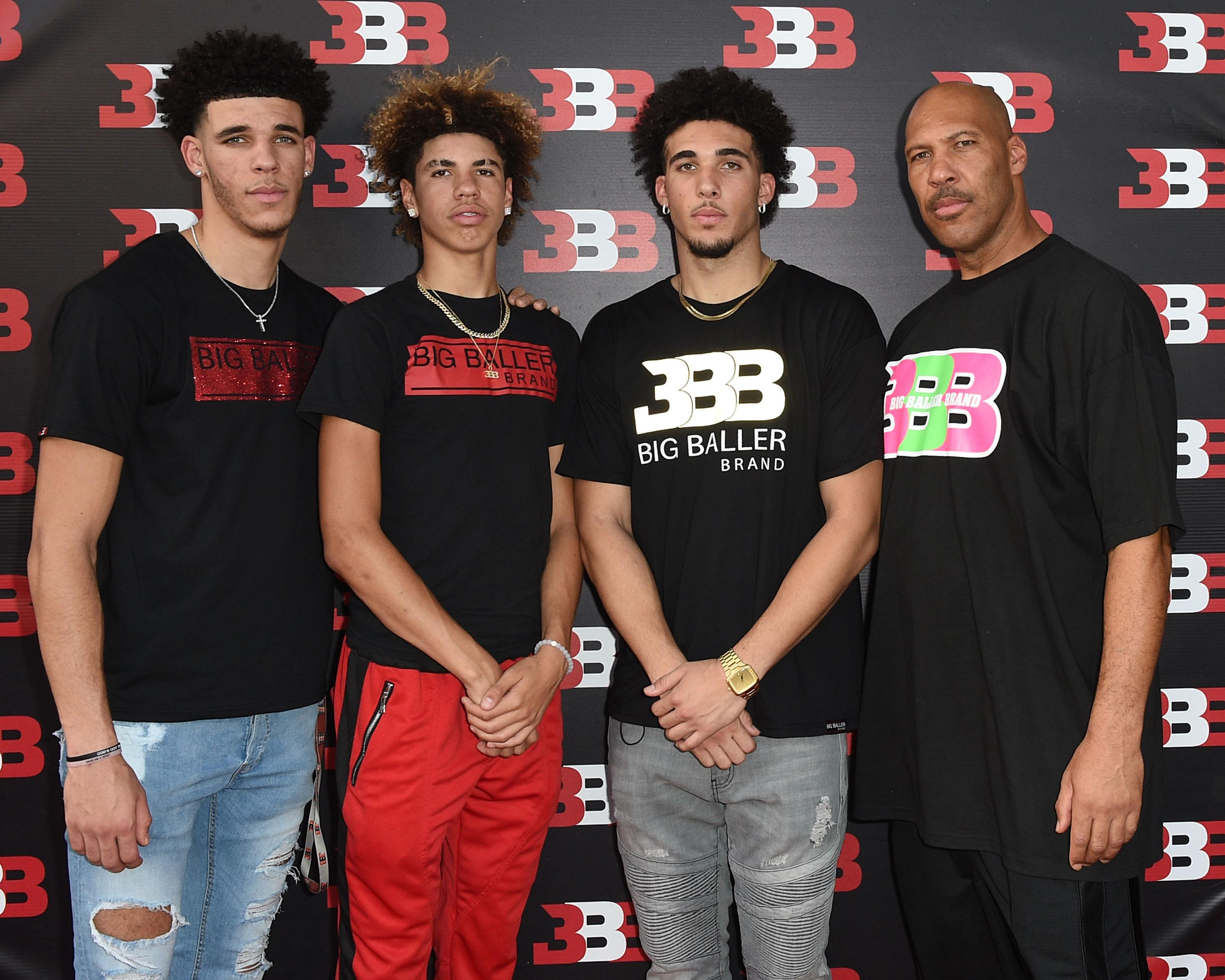 LiAngelo and LaMelo Ball