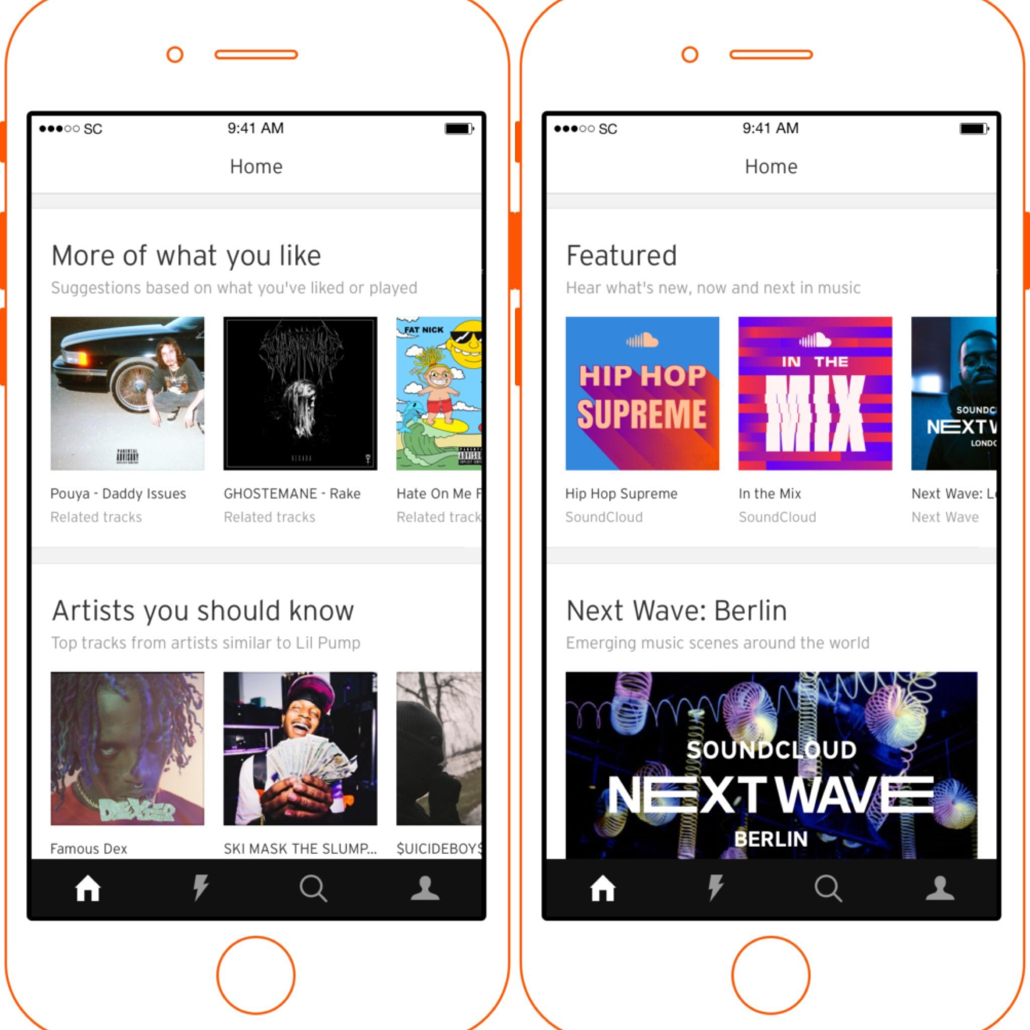 SoundCloud App Update Brings Personalized Playlist To The
