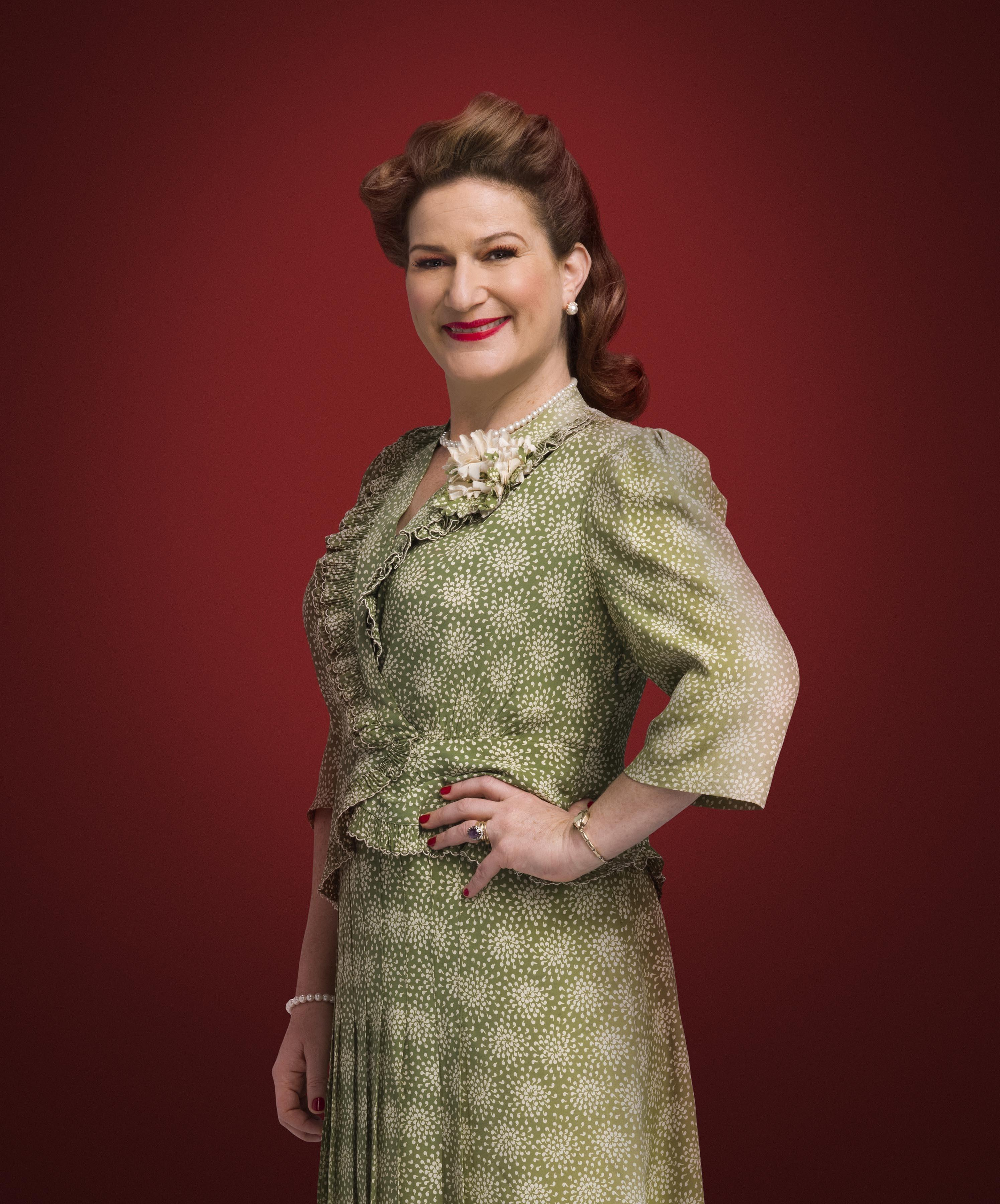 ana gasteyer stars as mrs schwartz in a christmas story live photo tommy garciafox