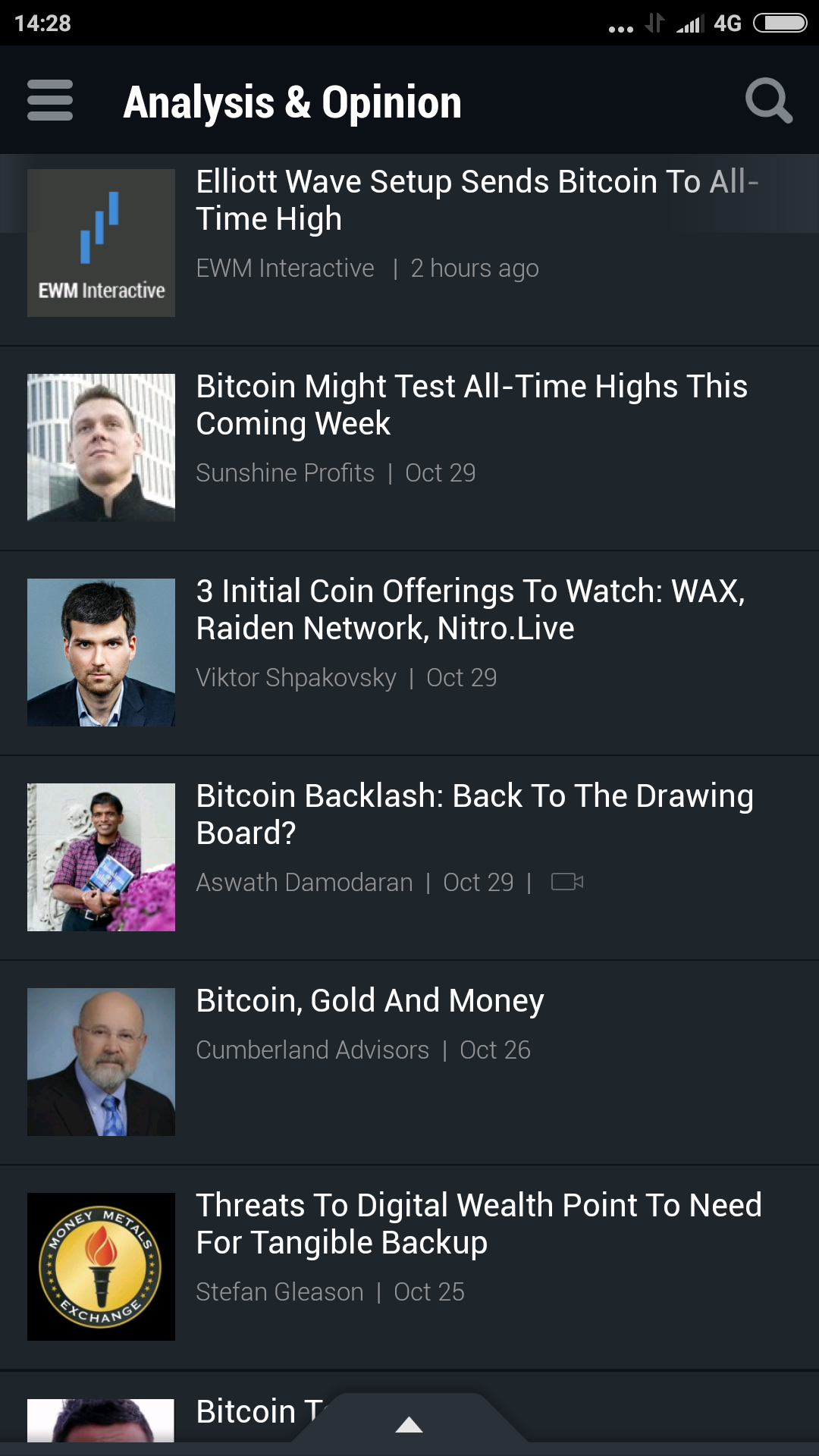 cryptocurrency market live app