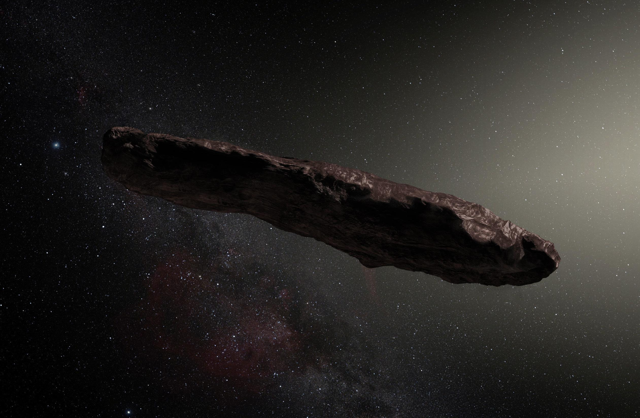 That weird 'alien probe' asteroid might not be an asteroid after all