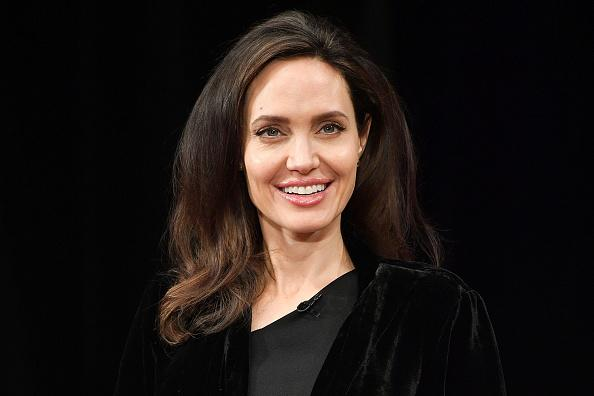 Angelina Jolie Exudes Glamour While Attending UN Event With Her Kids
