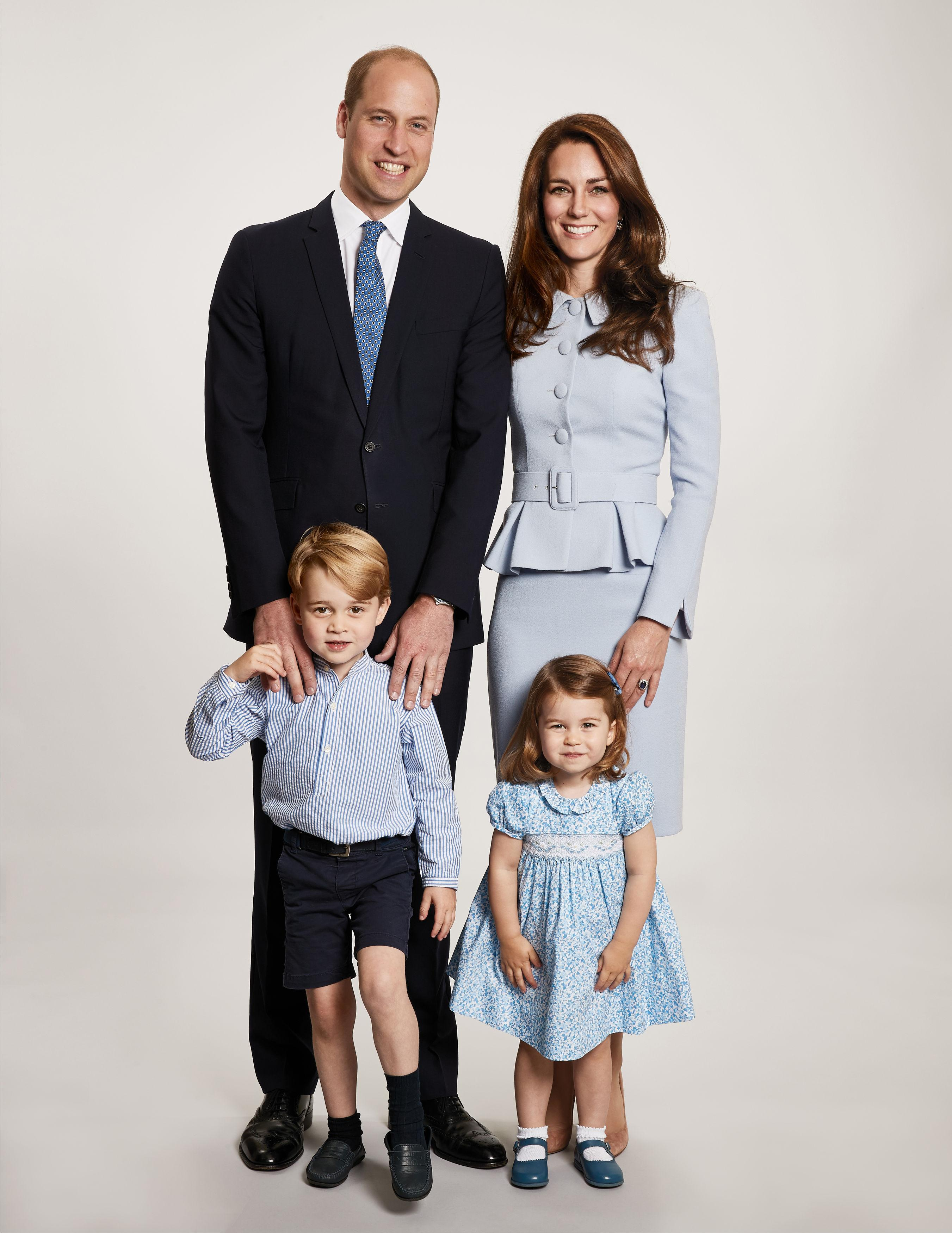 Princess Charlotte is off to nursery in London