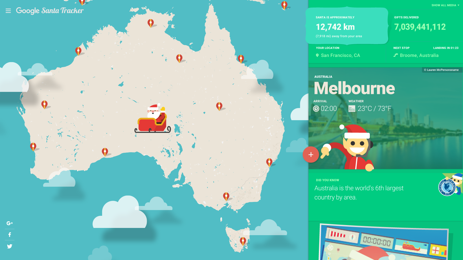 Children enjoy video conference with Santa via Starleaf app