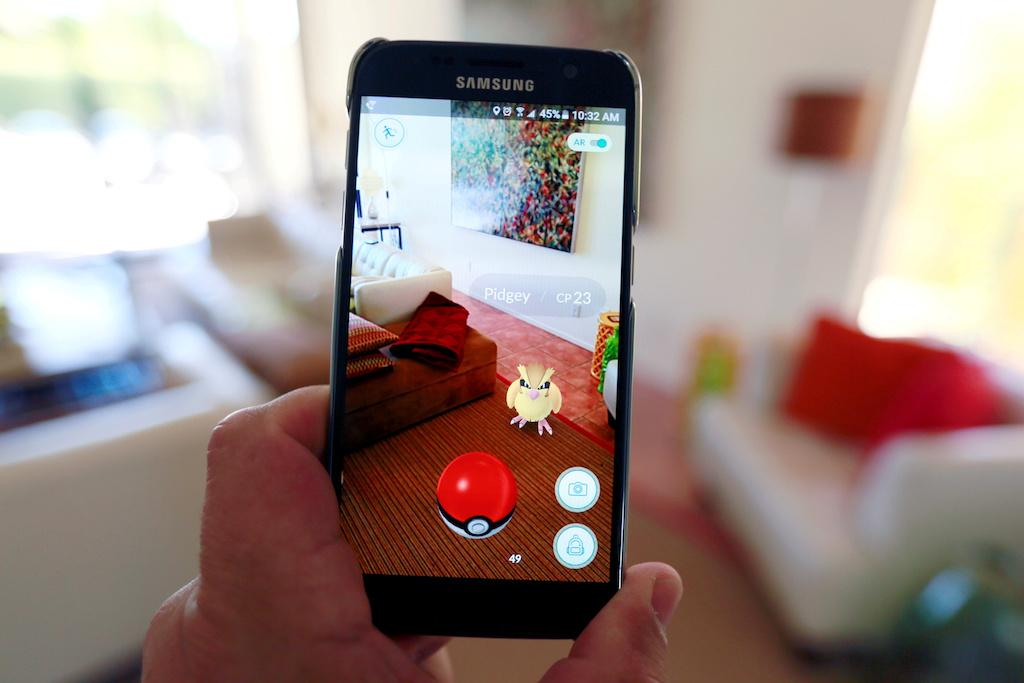 Pokemon Go's New AR Mode Revealed