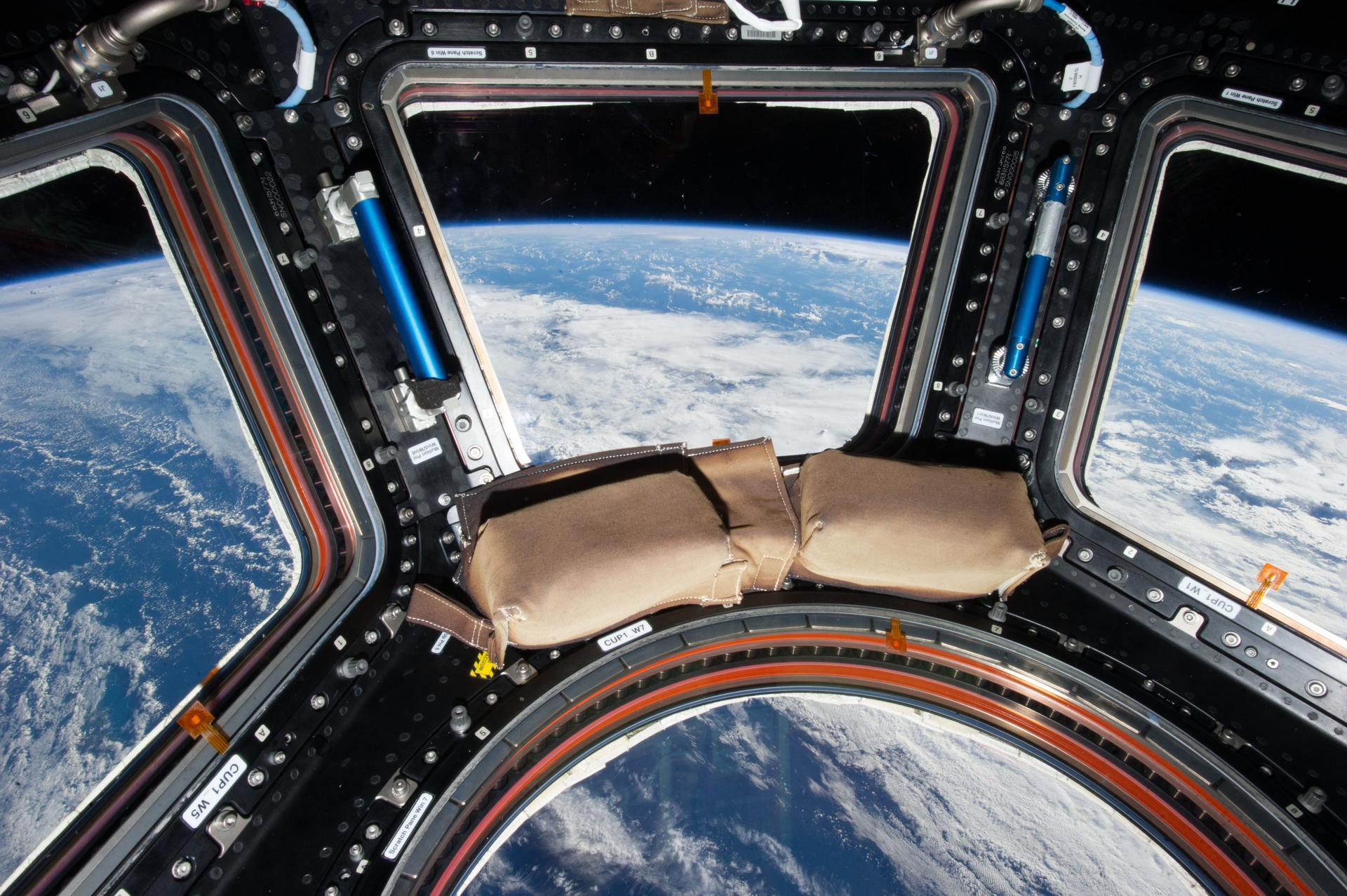 cupola on international space station