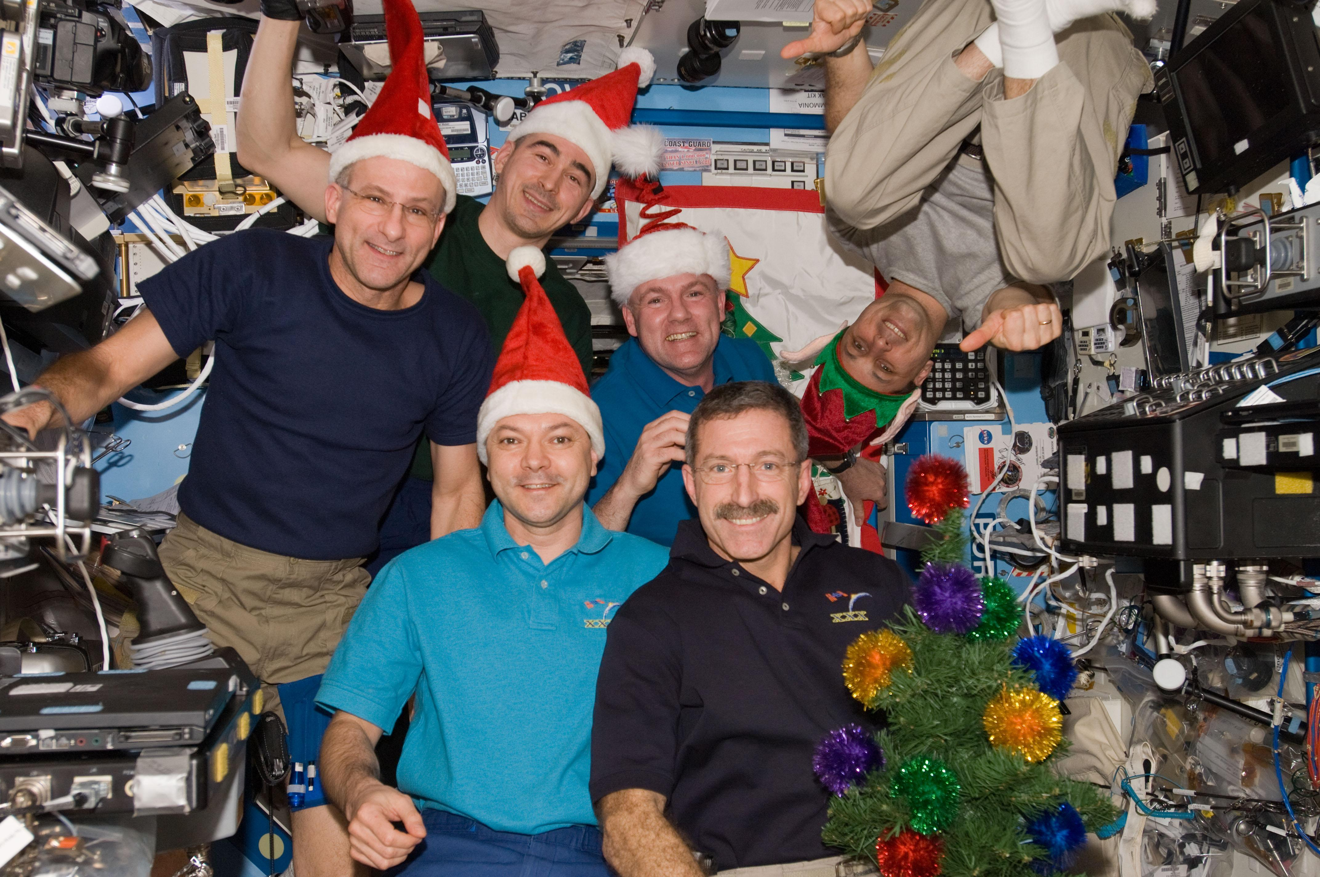 xmas on the ISS 2011