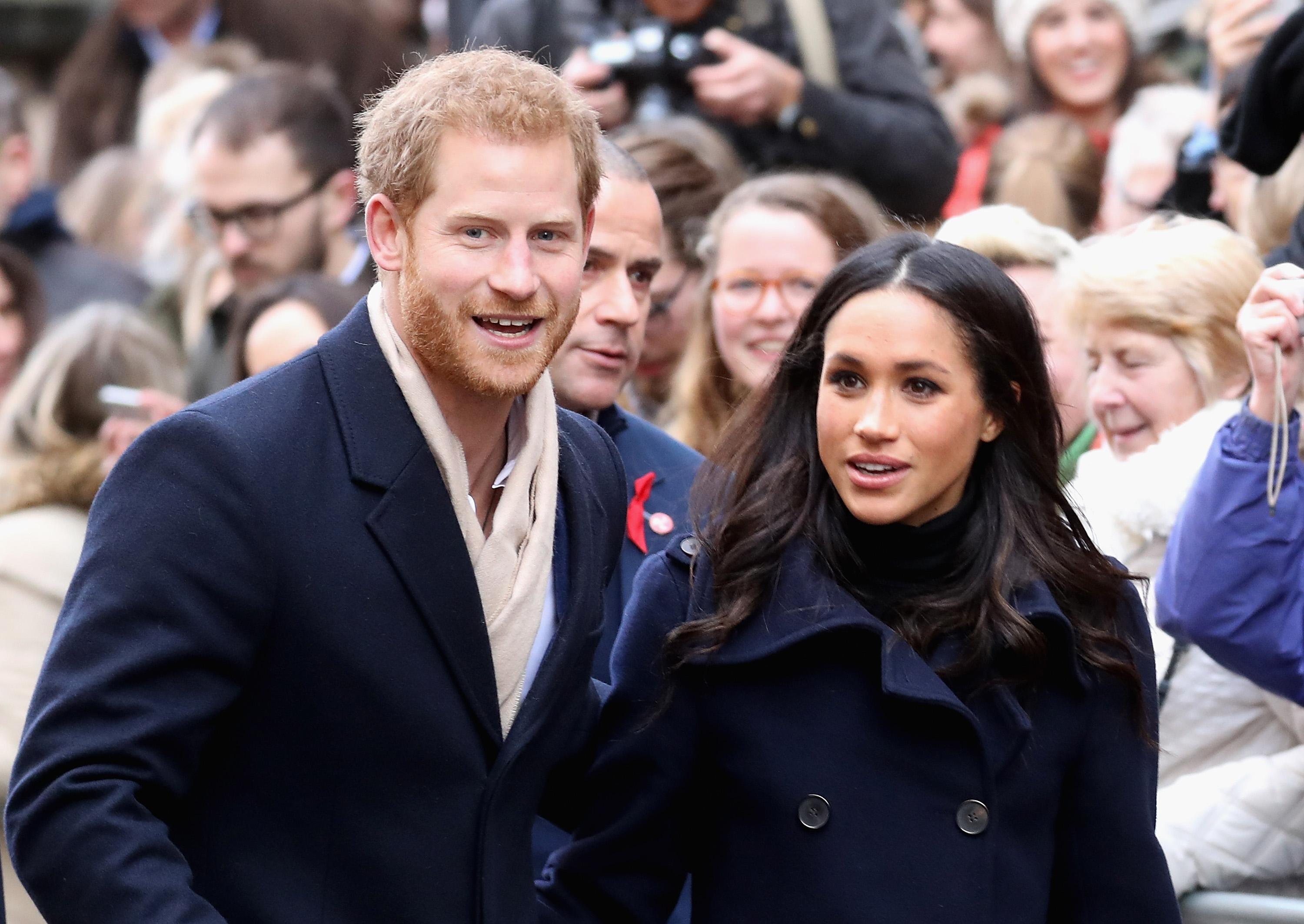 Meghan Markle Joins Prince Harry in Attending British Royal Family's Christmas Celebration