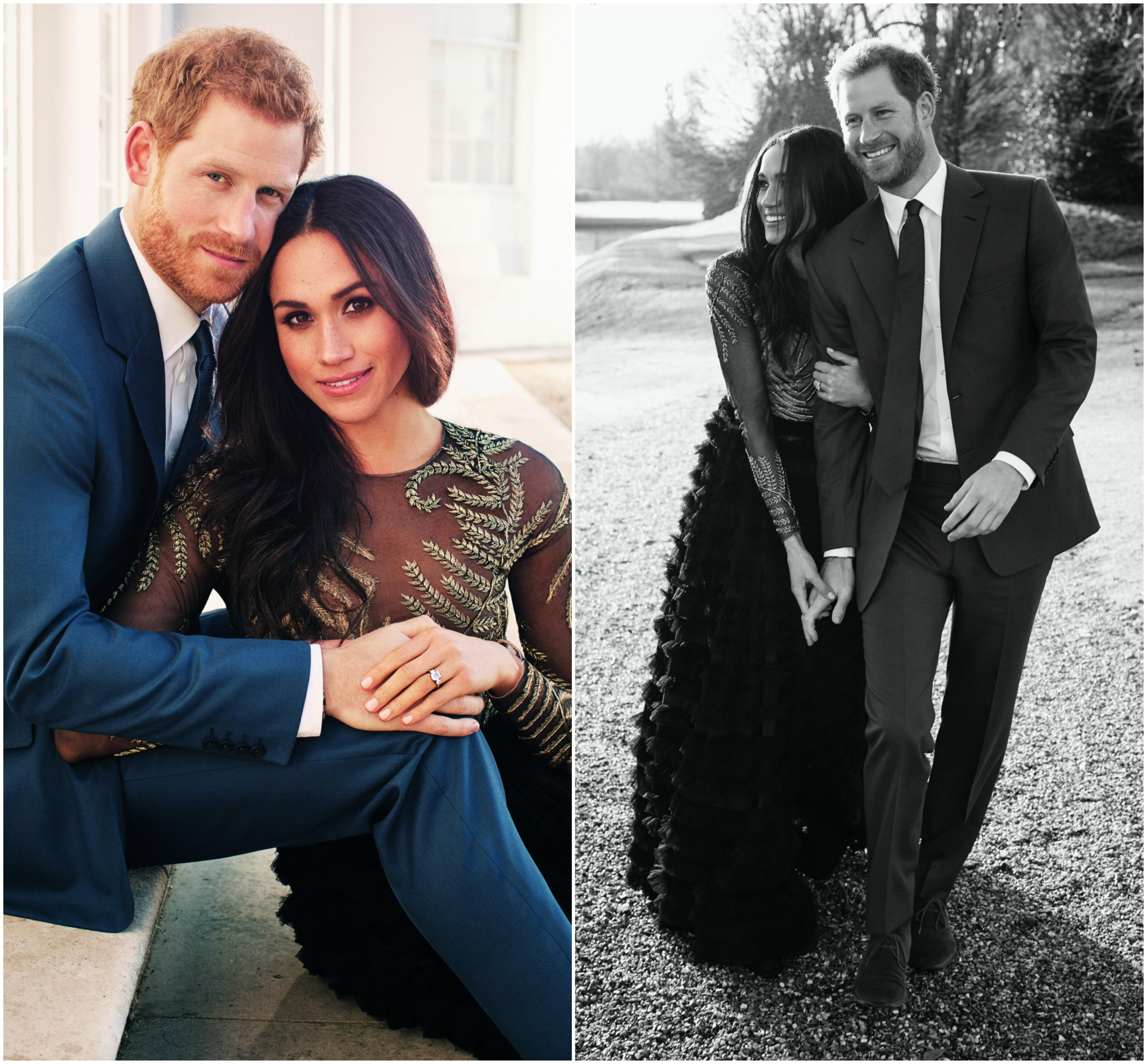 meghan markle engagement photos