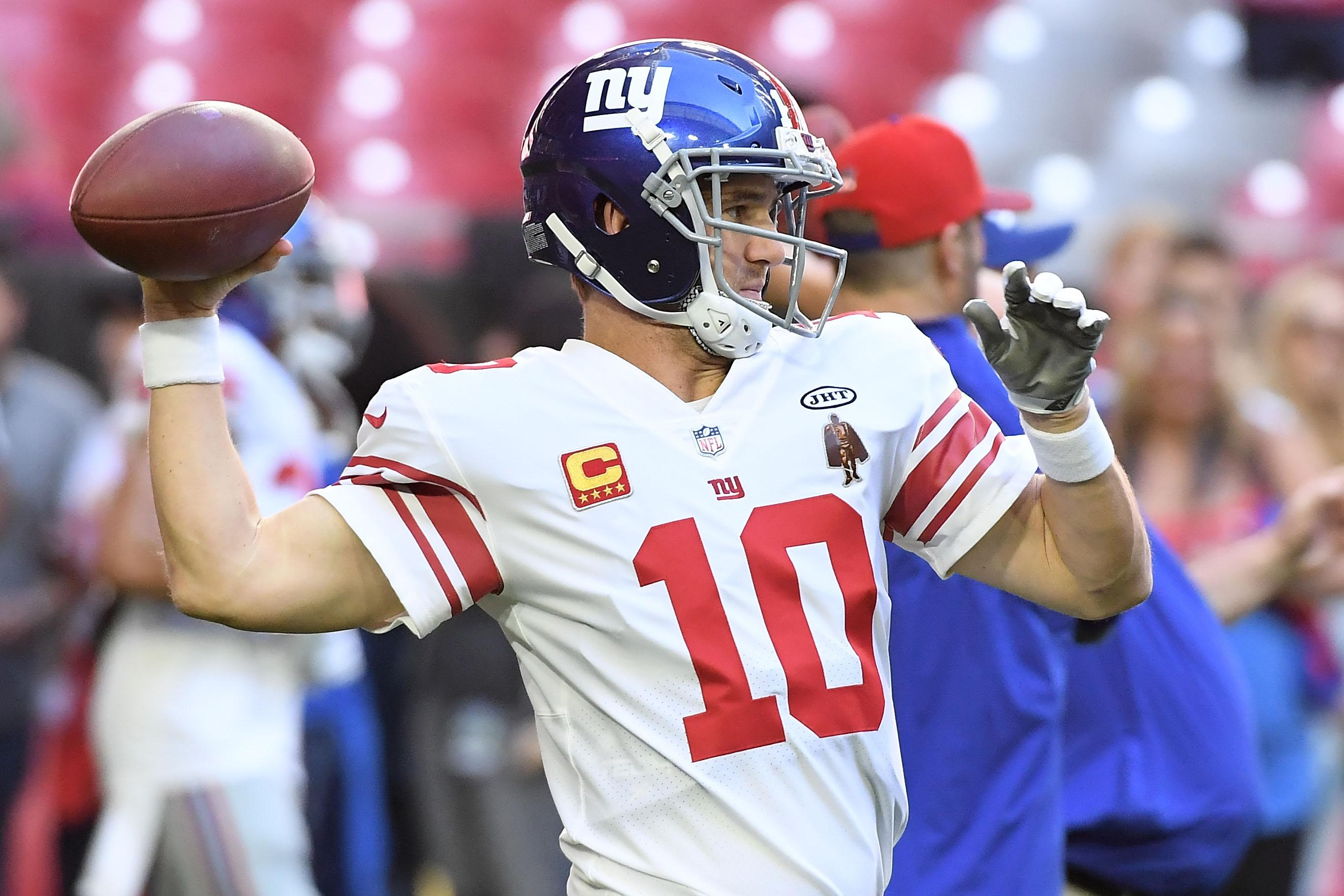 Betting Odds Released On Potential Eli Manning Trade