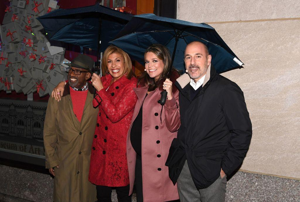 Matt Lauer, Al Roker, Hoda Kotb and Savannah Guthrie