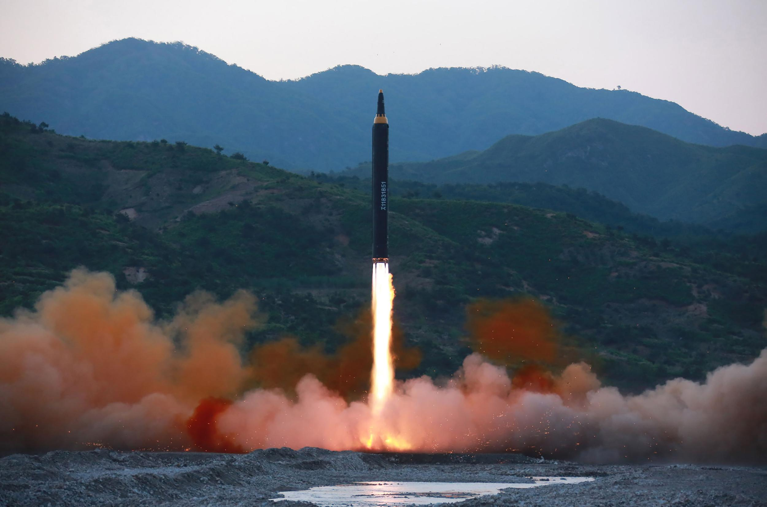 Did N.Korean missile hit own city? By
