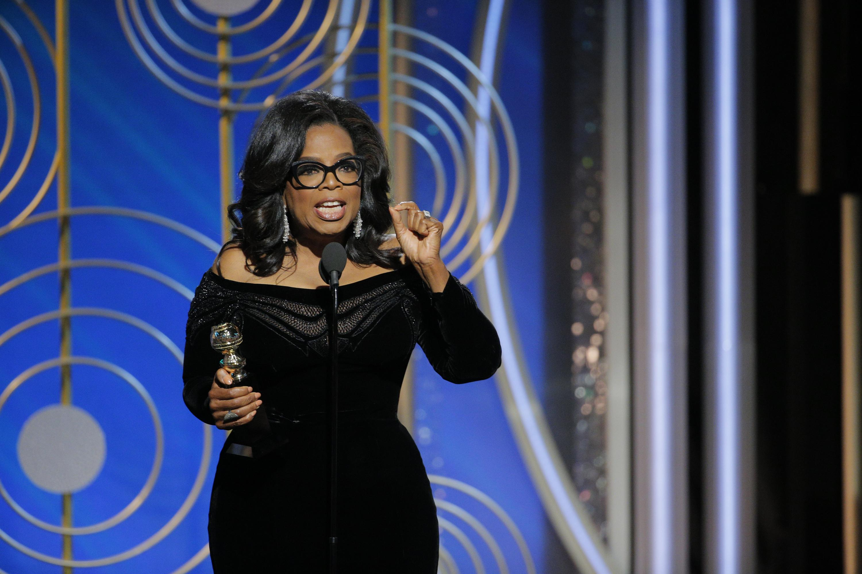 Weight Watchers stock jumped more than 13% after Oprah's Golden Globes speech