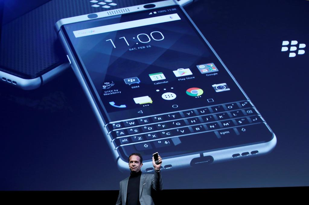 BlackBerry promises