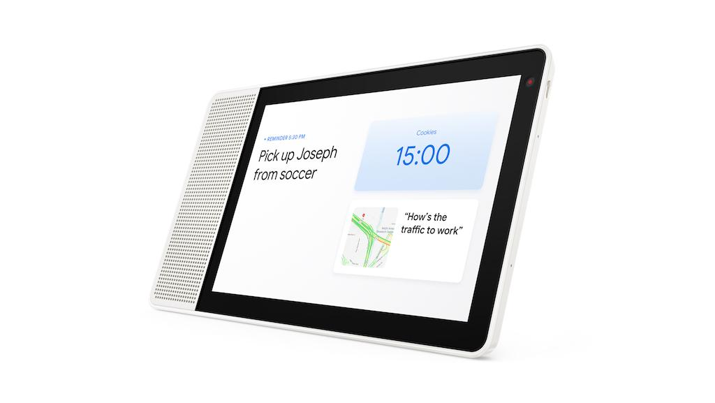 Lenovo Smart Display makes Google Assistant a smart home sidekick
