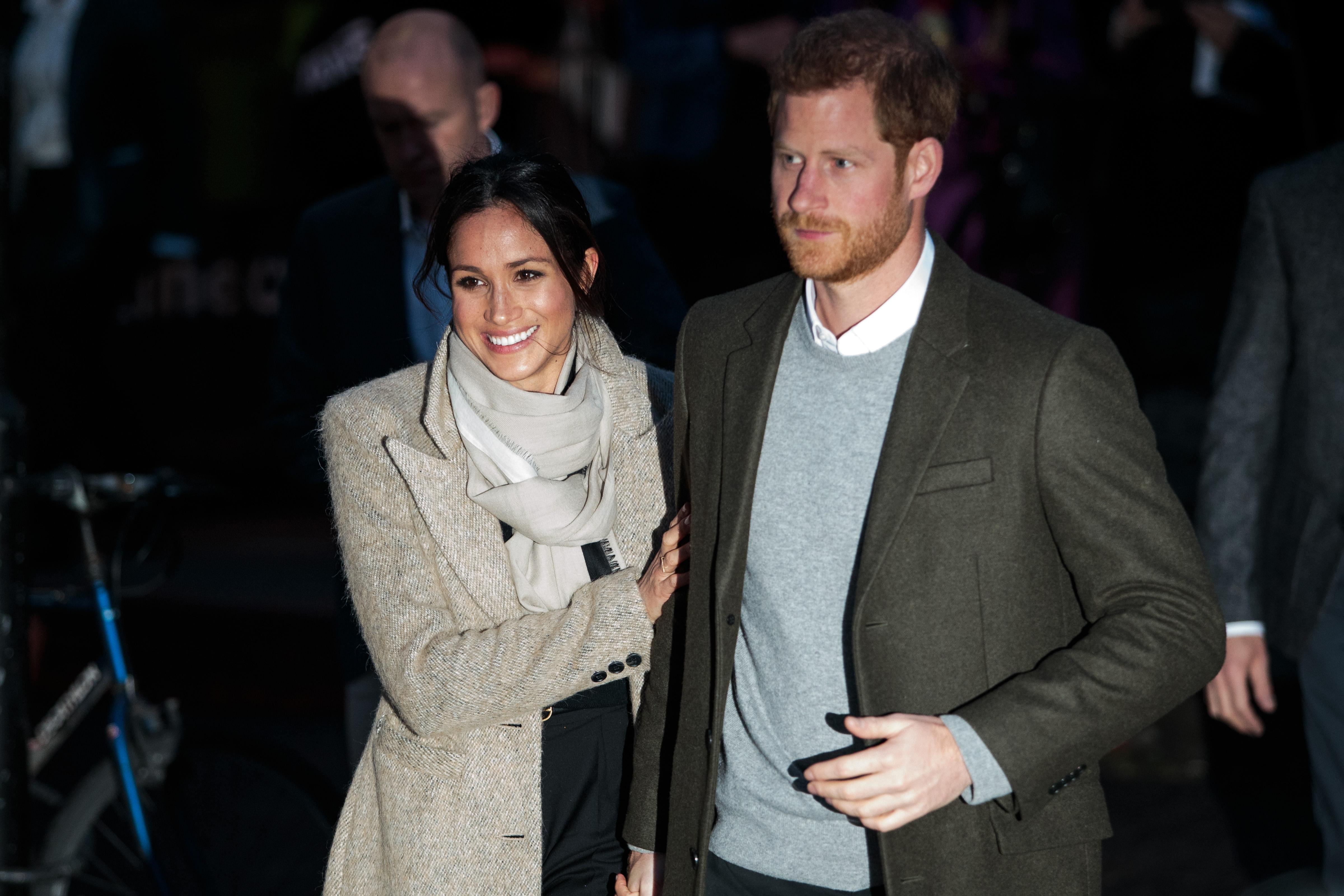 Harry and Meghan feel the love in Brixton